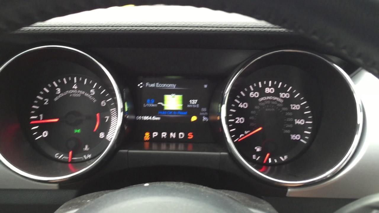 Ford Mustang 2.3 Ecoboost Acceleration