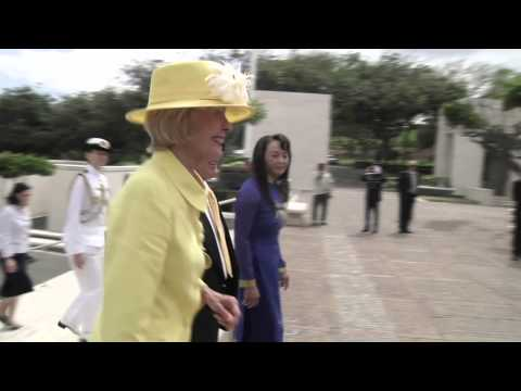 Australian Governor-General Visits Hawaii