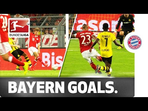 Dortmund vs. Bayern - Vidal Breaks the Deadlock, Hummels Assists