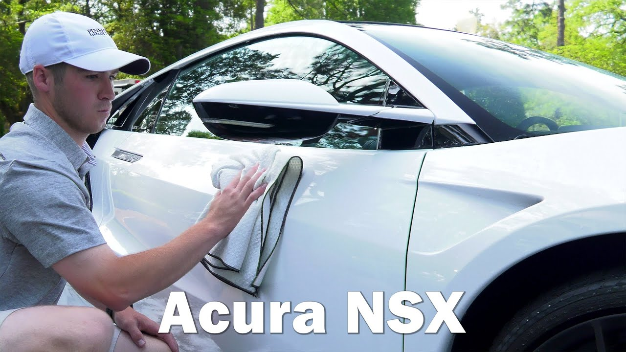 2017 acura nsx - j's mobile detailing - youtube