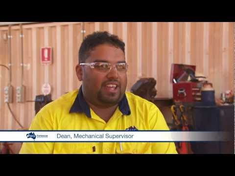 Working in the mines with Fortescue Metals Group (FMG)