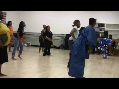 Dance Master Class (1 of 5)- West African Dance Ensemble