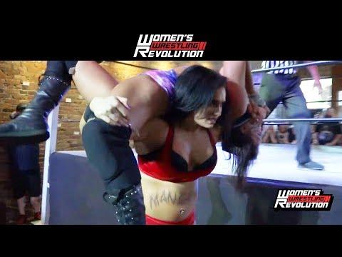 [Free Match] Kris Statlander vs. Maria Manic   Women's Wrestling Revolution (SHIMMER SHINE RISE WSU)