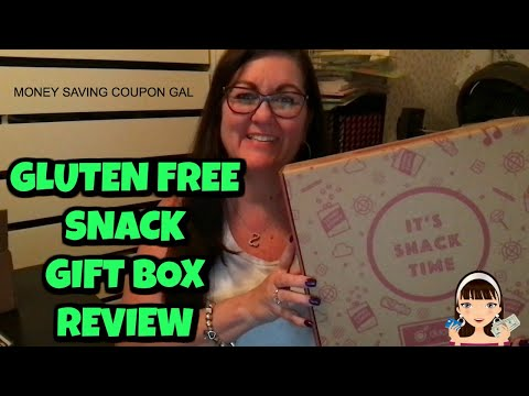GLUTEN FREE SNACK GIFT BOX REVIEW