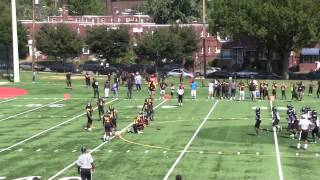 Lamond Riggs vs Southern Md 09-20-14