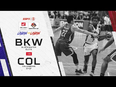 PBA: Blackwater vs. Columbian (REPLAY) - May 26, 2019