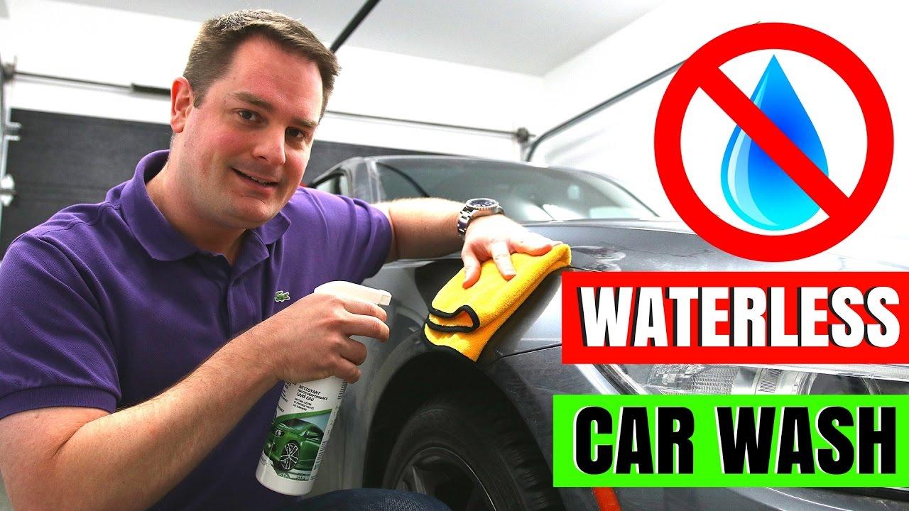 Spray Car Wash: Waterless Car Wash Tutorial !!