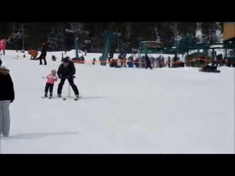 Aprendiendo a Esquiar en Ski Apache Ruidoso, New Mexico