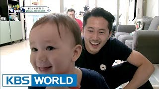 Super Uncle is here! William gets to meet Steven Yeun! [The Return of Superman / 2017.08.27]