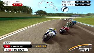 PS2 - MotoGP '08 - GamePlay [4K:60fps]