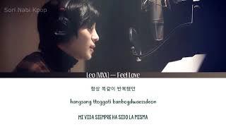 Leo (vixx) — feel love [sub esp   rom han]