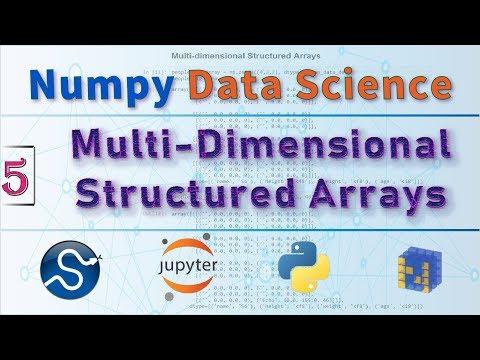 NumPy Structured Arrays vs Record Arrays, NumPy Arrays