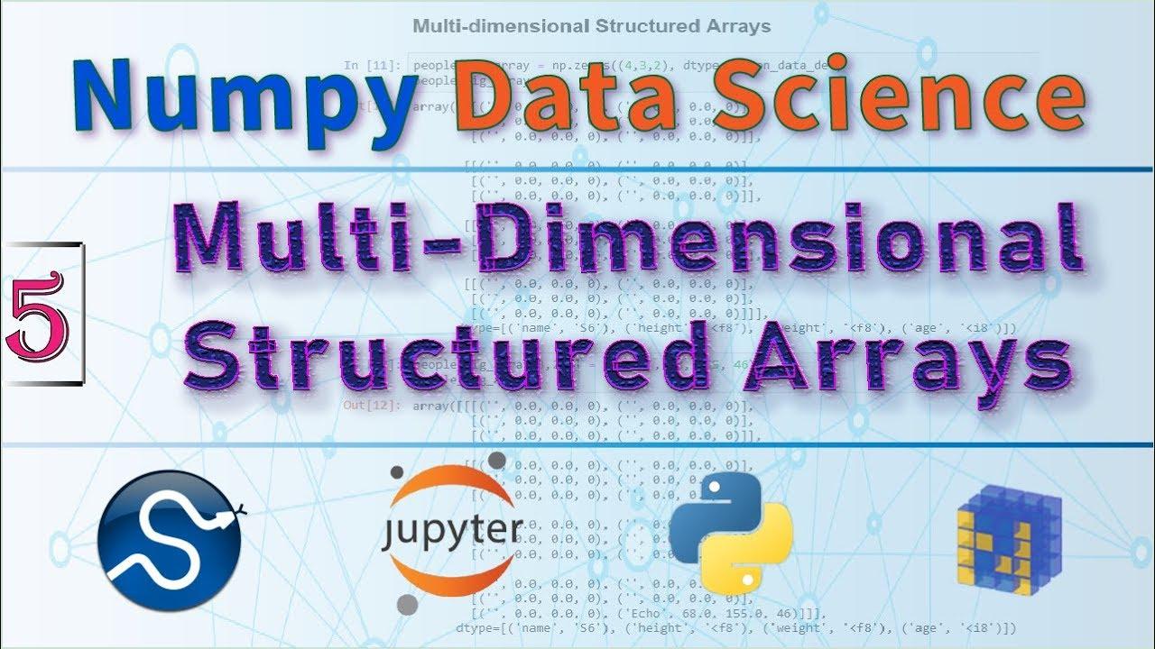 NumPy Structured Arrays vs Record Arrays, NumPy Arrays Tutorial in Python  Data Science