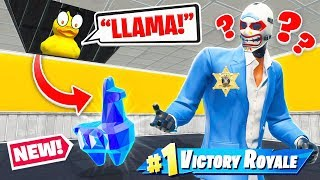 PROP HUNT Museum LLAMA ESCAPE *NEW* Game Mode in Fortnite Battle Royale