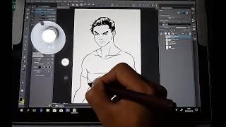 Surface pro 2017 fun drawing test