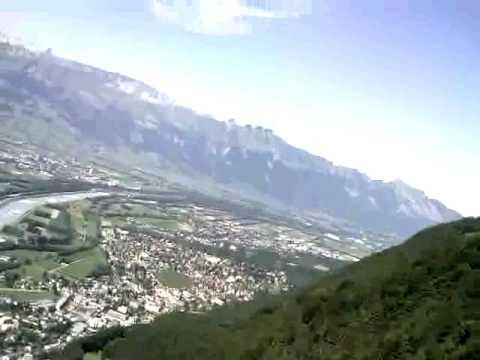 Quick Paragliding Triesenberg Bärgälla Vaduz Liechtenstein