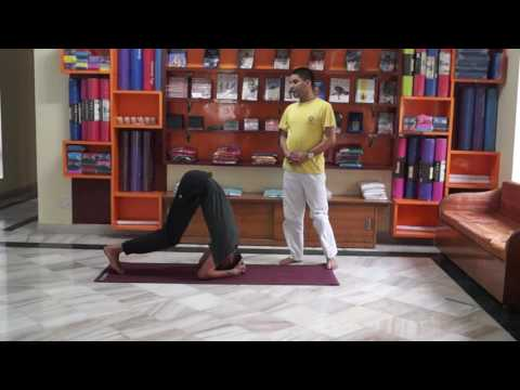 2 Headstand in Sivananda Style  by Vijay Sir