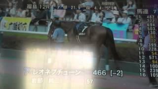2014 4 27福島12R 川俣特別 サラ系4歳以上 2000m 芝 右 混合 4歳以上500
