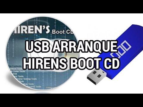 Crear USB de arranque con Hirens Boot CD www.informaticovitoria.com