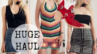 HUGE END OF SUMMER TRY ON HAUL + Lulus, Nasty Gal, Princess Polly