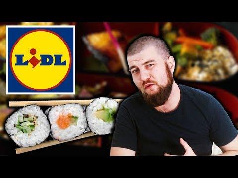 Bosanac jede Sushi iz LIDL-a!!