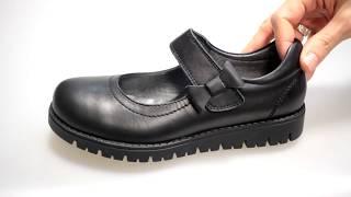 Туфли на платформе для девочки Happy walk 2912-05 - Видео обзор школьной обуви на девочку