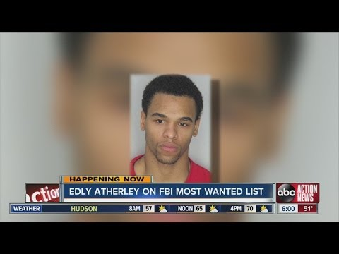 Edly Atherley.on FBI most wanted list