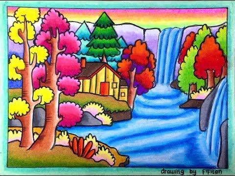 Drawing By Fifitan Sketsa Creative Ideas