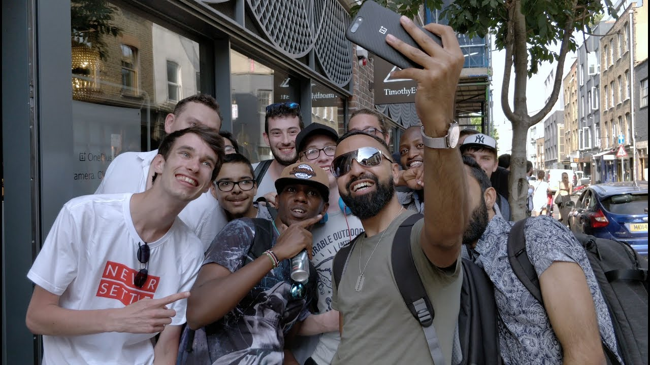 OnePlus 5 - European Pop-up Events