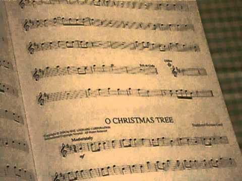 O Christmas Tree On Flute