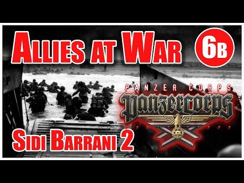 Sidi Barrani 2 | Allies at War 6b | Panzer Corps Gold Let's Play |