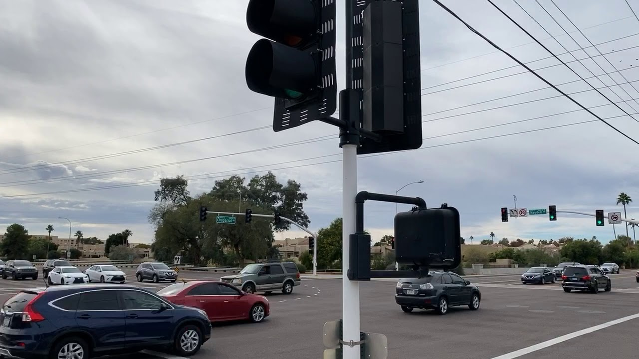 Traffic Timelapse In Scottsdale