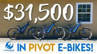 $31,500 IN E-BIKES??? // Are e-bikes worth the money?