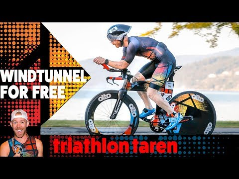"HOW TO get FREE ""WINDTUNNEL LIKE"" triathlon bike testing"