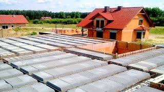 Budowa domu krok po kroku.  31-40 Strop ułożenie belek i pustaków. KURS DVD