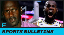 Michael Jordan's Agent Says You Should See A Dr If You Think Lebron Is Better
