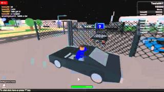 My ROBLOX Car Test,my first Account vid