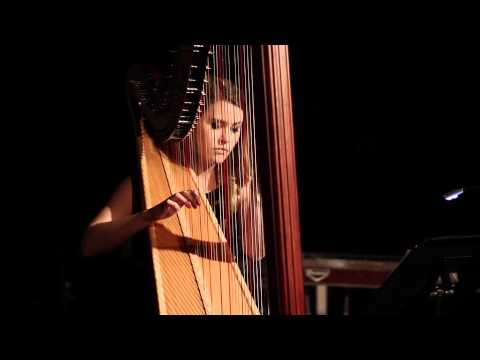 Sara Watson performing the Unstrung Harp by Laura Brackney at COTFG NMASS2015