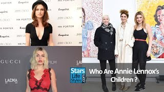 Who Are Annie Lennox's Children ? [2 Daughters] | Eurythmics Singer