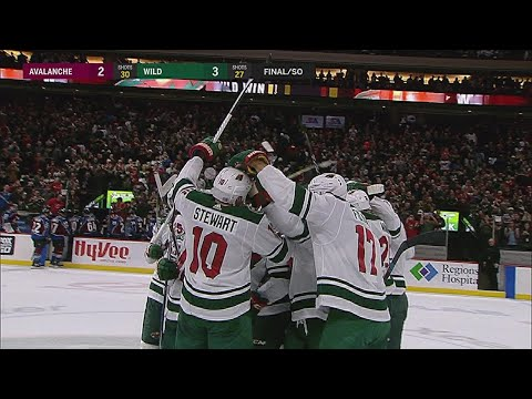 Wild take down Avalanche in shootout