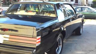 "1983 Buick Grand National/T-type ""Black Velvet"""