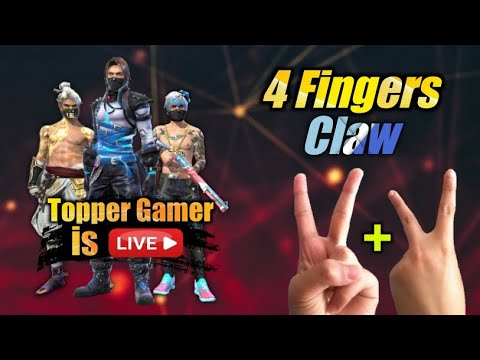 Garena Free Fire LIVE GamePlay w/ 4 Finger Claw || TG Live