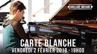 Carte blanche - Vendredi 2 février 2018 à Boullard Musique
