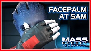 "Mass Effect ANDROMEDA: Lexi Facepalms at SAM for ""Killing"" Ryder"