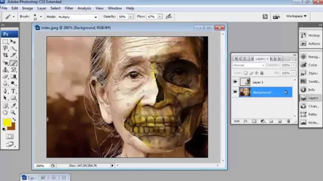 Cara Memotong Objek Gambar di Photoshop - Tutorimaru's ...
