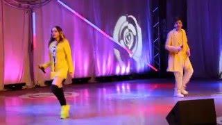 Элвин Грей и Ann Su на концерте 21 марта