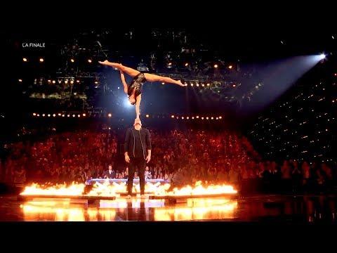 EVOLUTION OF DANCE: Circus Meets Dance - Charlotte & Nicolas | Acrobatic Duo