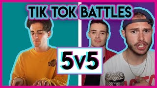 TIK TOK 5 v 5 | Ed Sheeran | New School vs Old School Covers Battle