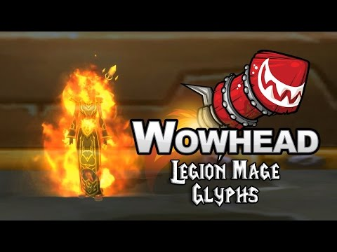 Legion Mage Glyphs