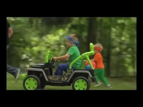 Fisher-Price® Power Wheels® Teenage Mutant Ninja Turtles™ Jeep® Wrangler